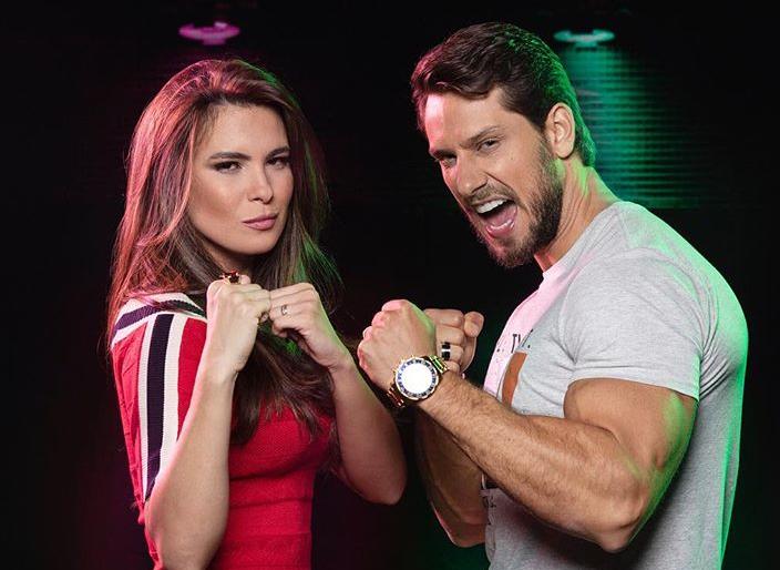 Eliéser e Kamilla estão no Power Couple (Foto: Divulgação)