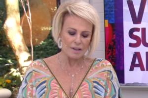 Ana Maria Braga durante o Mais Você (Foto: Reprodução/Globo)