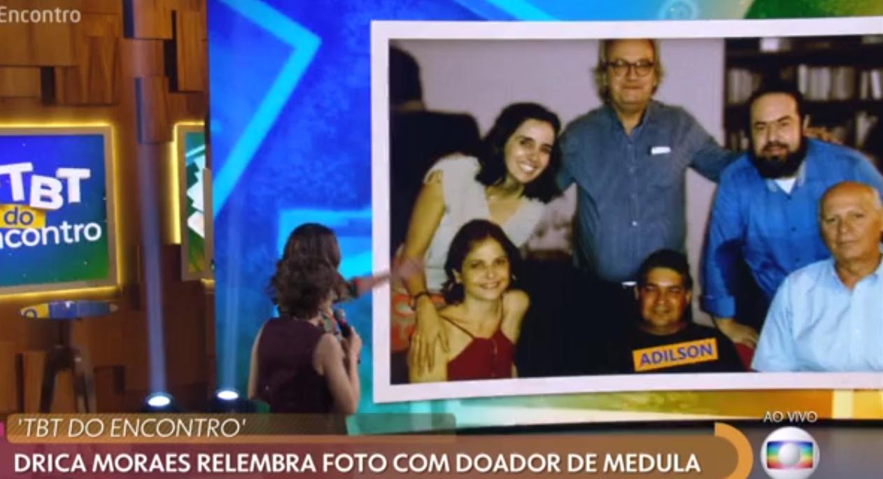 Drica Moraes ao vivo na Globo (Foto: Reprodução)