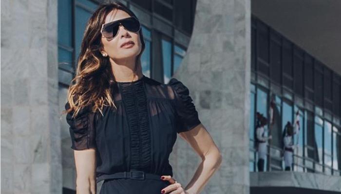 A apresentadora do Superpop da RedeTV!, Luciana Gimenez (Foto: Reprodução/Instagram)