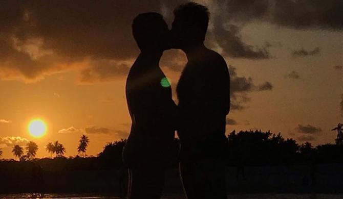 Pedro Figueiredo e Erick Rianelli são jornalistas da Globo e casados (Foto: Reprodução/Instagram)