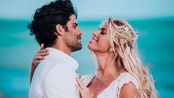 Casamento de Carol Bittencourt (Foto: Reprodução/Instagram)
