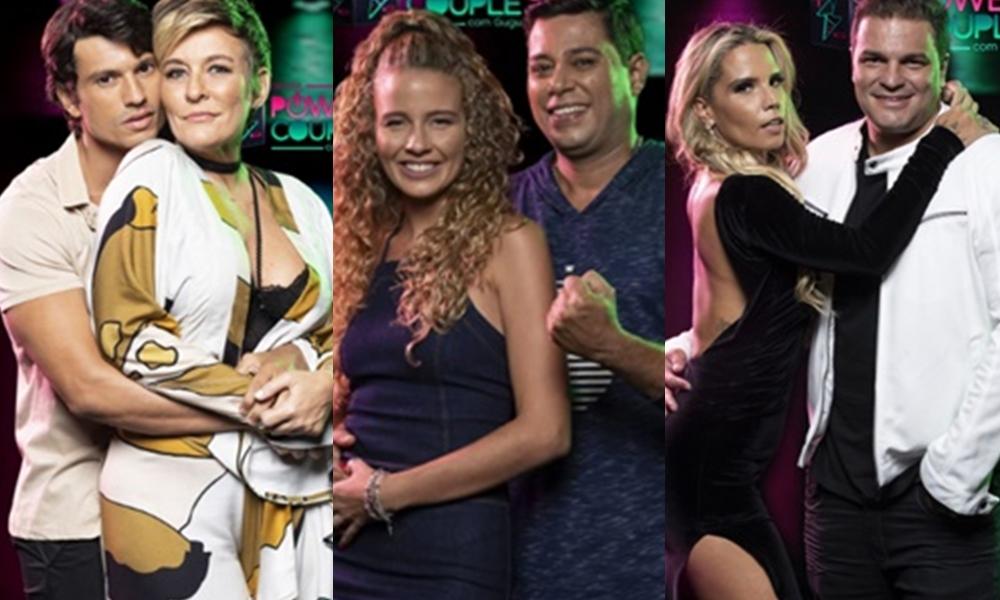 Casais disputam permanência no reality show Power Couple Brasil 4, da Record. (Foto: Reprodução)