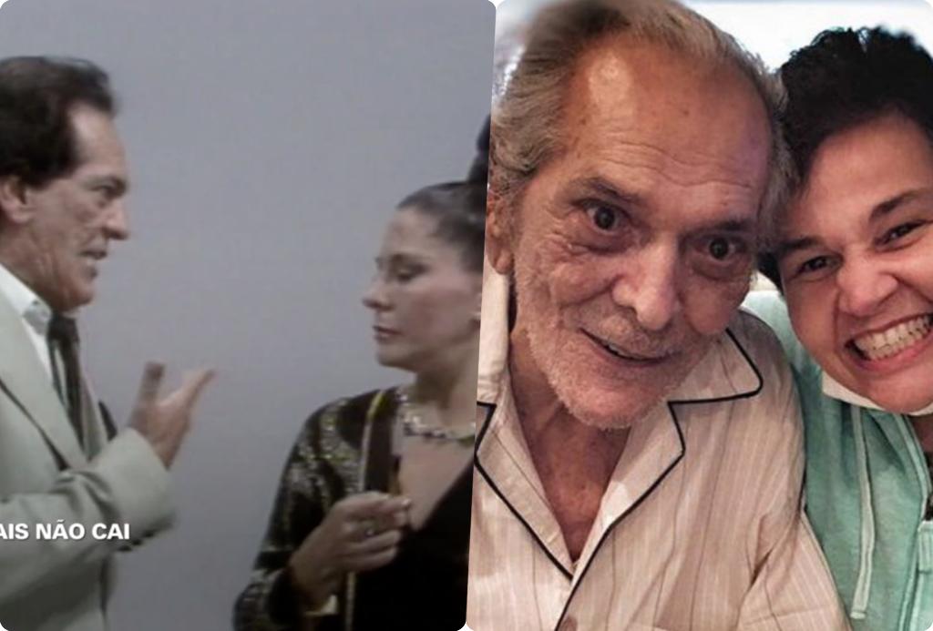 Globo ignorou Claudia Rodrigues durante homenagem para Lúcio Mauro no Fantástico (Foto montagem: TV Foco)