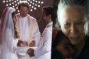 Maria da Paz (Juliana Paes) vai ficar cheia de sangue em casamento com Amadeu (Marcos Palmeira) em A Dona do Pedaço da Globo