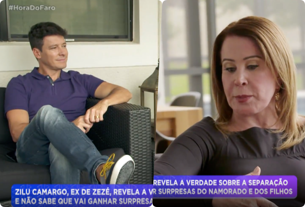 Zilu Camargo em declarações polêmicas sobre Zezé Di Camargo, Ludmilla doente e fora do Show dos Famosos e Mileide Mihaile, ex-de Wesley Safadão, criticada por apresentadora de TV estão na Coluna da TV de hoje.