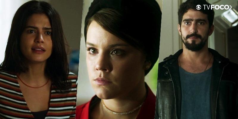 Vilã Dalila (Alice Wegmann) foi noiva de Jamil (Renato Góes) e vê Laila (Julia Dalavia) como rival em Órfãos da Terra
