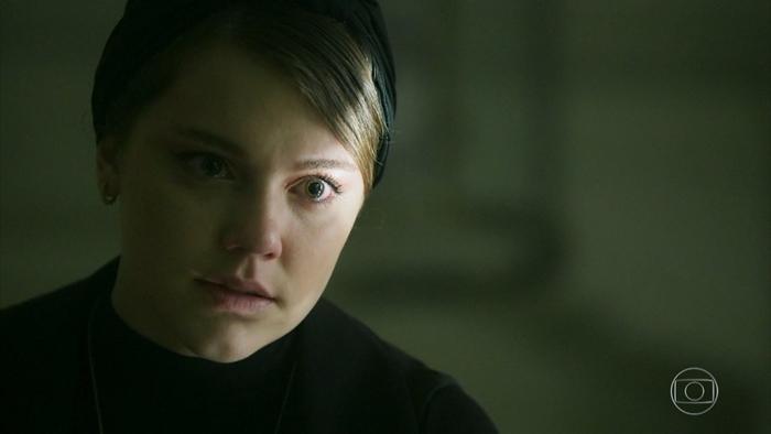 Dalila (Alice Wegmann) em Órfãos da Terra (Foto: Reprodução/Globo)