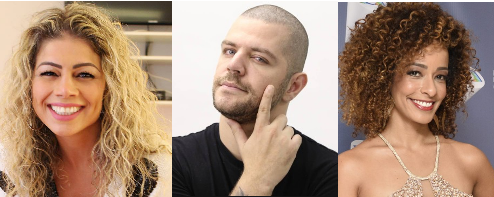 Cátia Paganote, Victor Sarro e Alinne Prado estão na nova temporada do Dancing Brasil (Foto: Montagem/TV Foco)