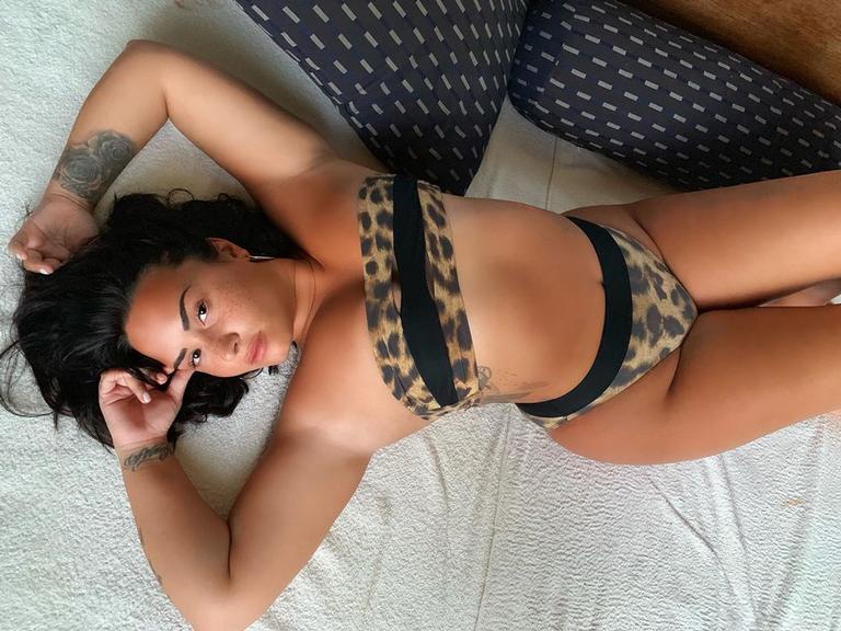 Demi Lovato causando (Foto: Reprodução)