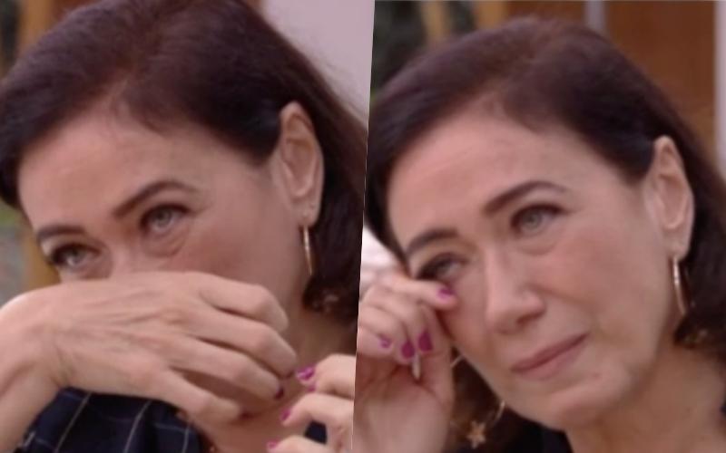 """Ao vivo no Mais Você de Ana Maria Braga, Lilia Cabral se desespera: """"Estou passando mal"""" Foto: Reprodução"""