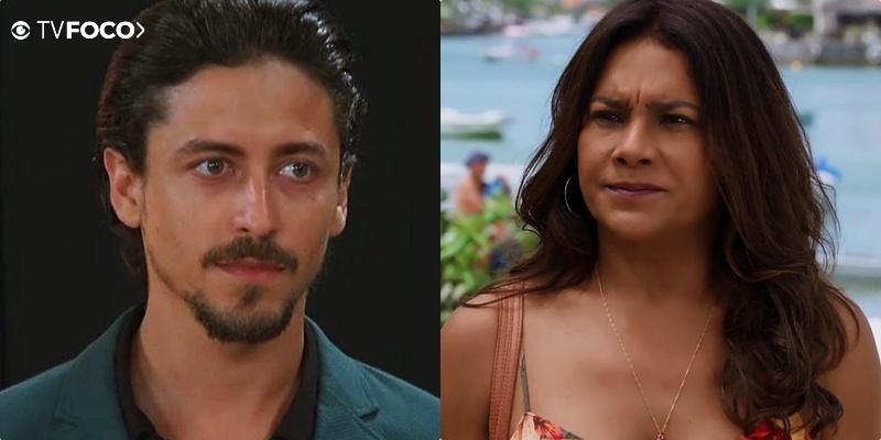 Jerônimo (Jesuíta Barbosa) trairá a mãe Janaina (Dira Paes) e mudará a sua vida em Verão 90