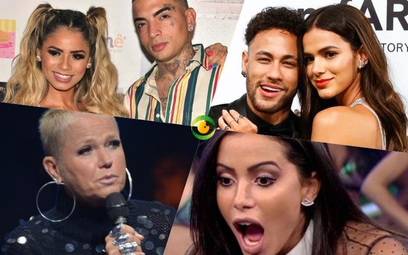 Neymar e Bruna reatam, Lexa e Mc Guime decretam fim do relacionamento, Xuxa fora da Record e Anitta dividida entre dois amores, veja as previsões para os famosos Foto: Reprodução