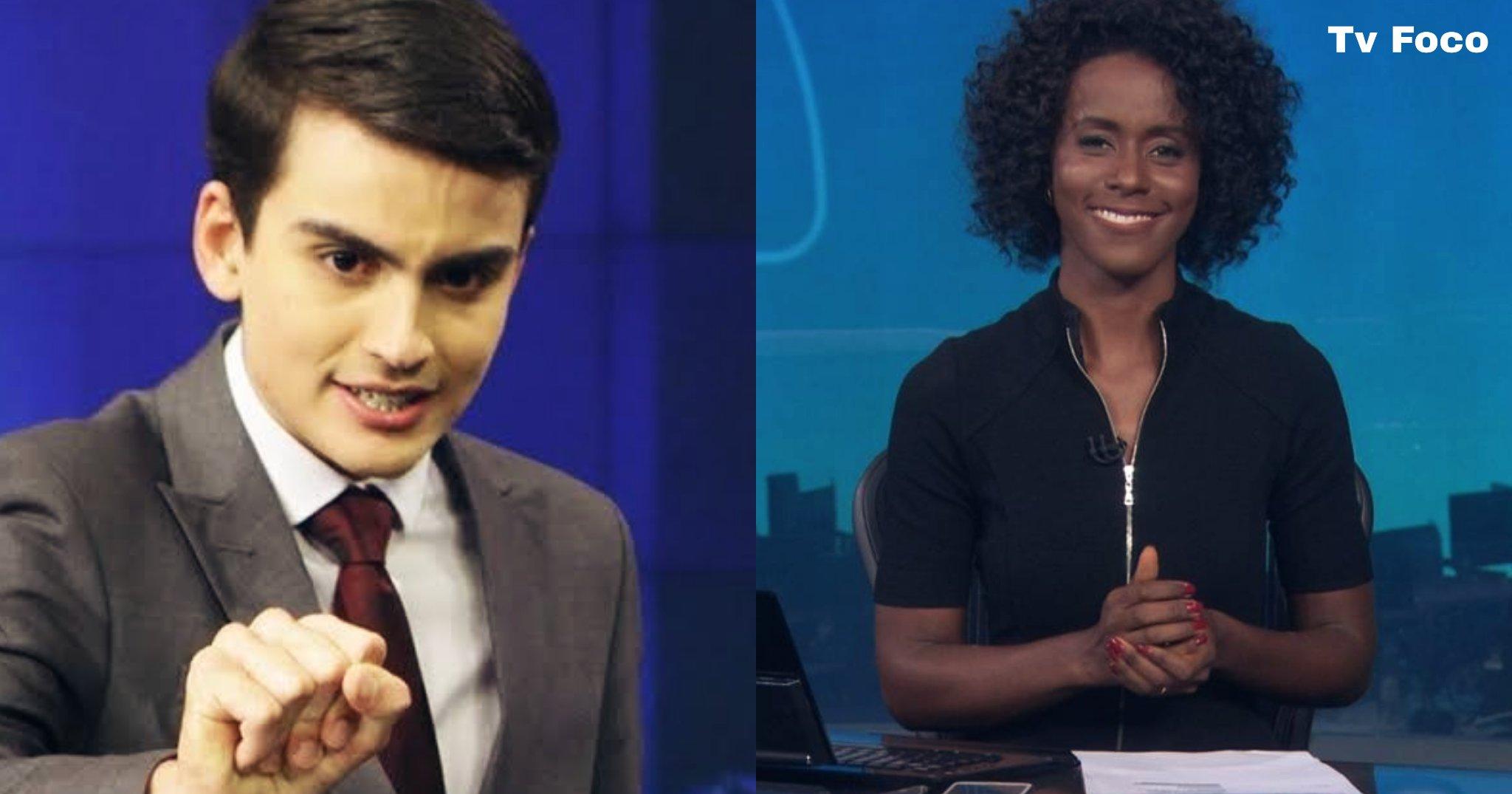Dudu Camargo comanda o Primeiro Impacto no SBT e Maju marca sua presença na Globo no JN como mulher do tempo e apresentadora
