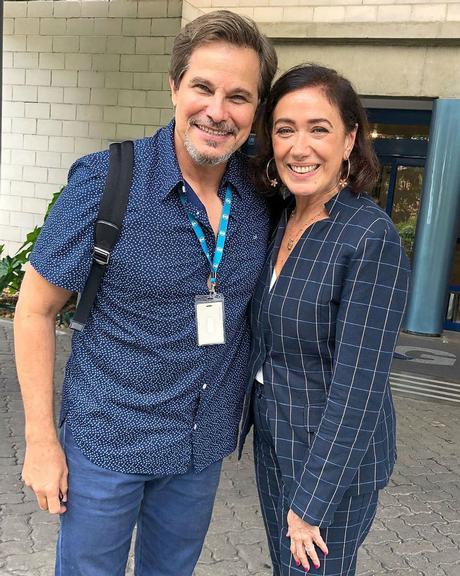 Edson Celulari e Lilia Cabral Foto: Reprodução