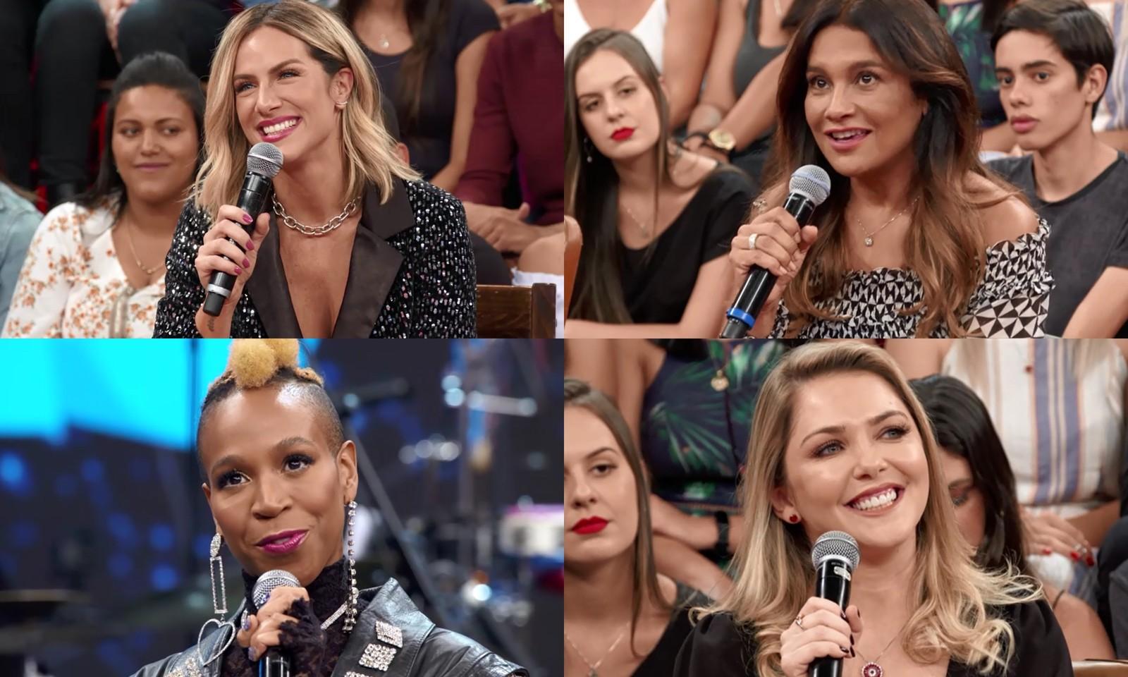 """Filha de Giovanna Ewbank e Bruno Gagliasso questiona a mãe sobre adoção e deixa Gio desesperada: """"fiquei sem reação"""" Foto: TV GLOBO"""