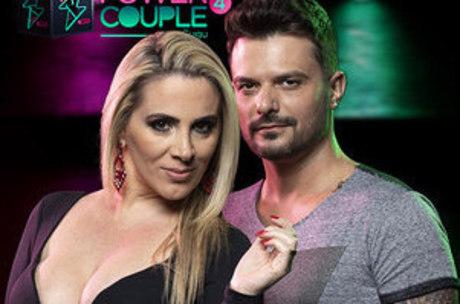 Faby Monarca e Enrico Mansur são eliminados do Power Couple Brasil da Record (Foto: Reprodução)