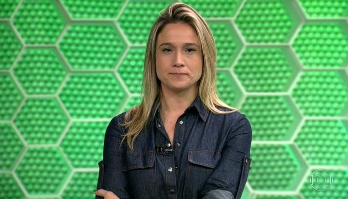 Fernanda Gentil fica de fora da cobertura da Copa do Mundo feminina (Foto: Reprodução/Globo)