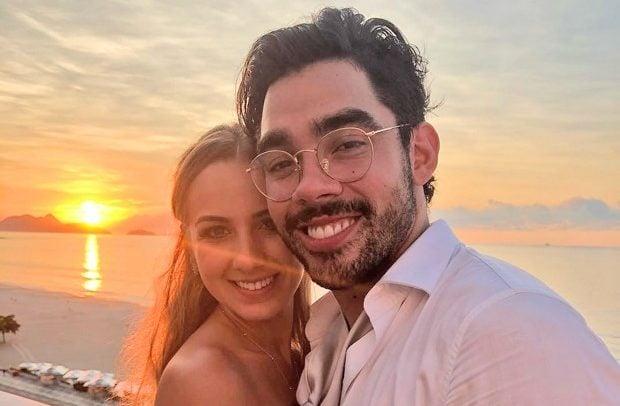 Gabriel Diniz e a namorada, Karoline Calheiros (Foto: Reprodução/ Instagram)