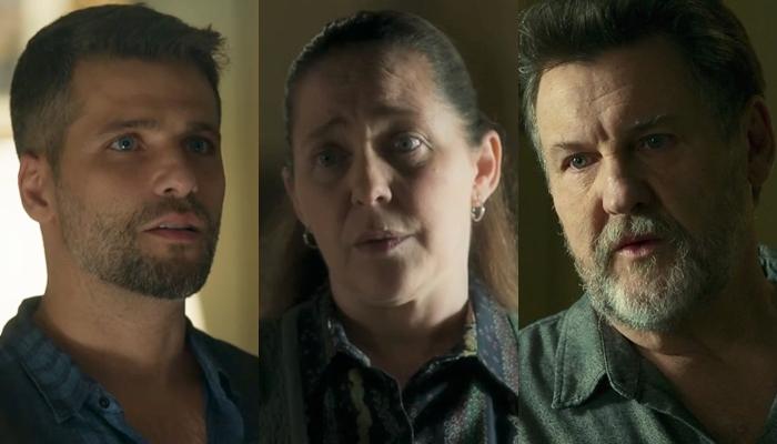 Judith vai se matar após ser descoberta por Gabriel como serial killer a mando de Egídio em O Sétimo Guardião (Foto: Reprodução/Globo)