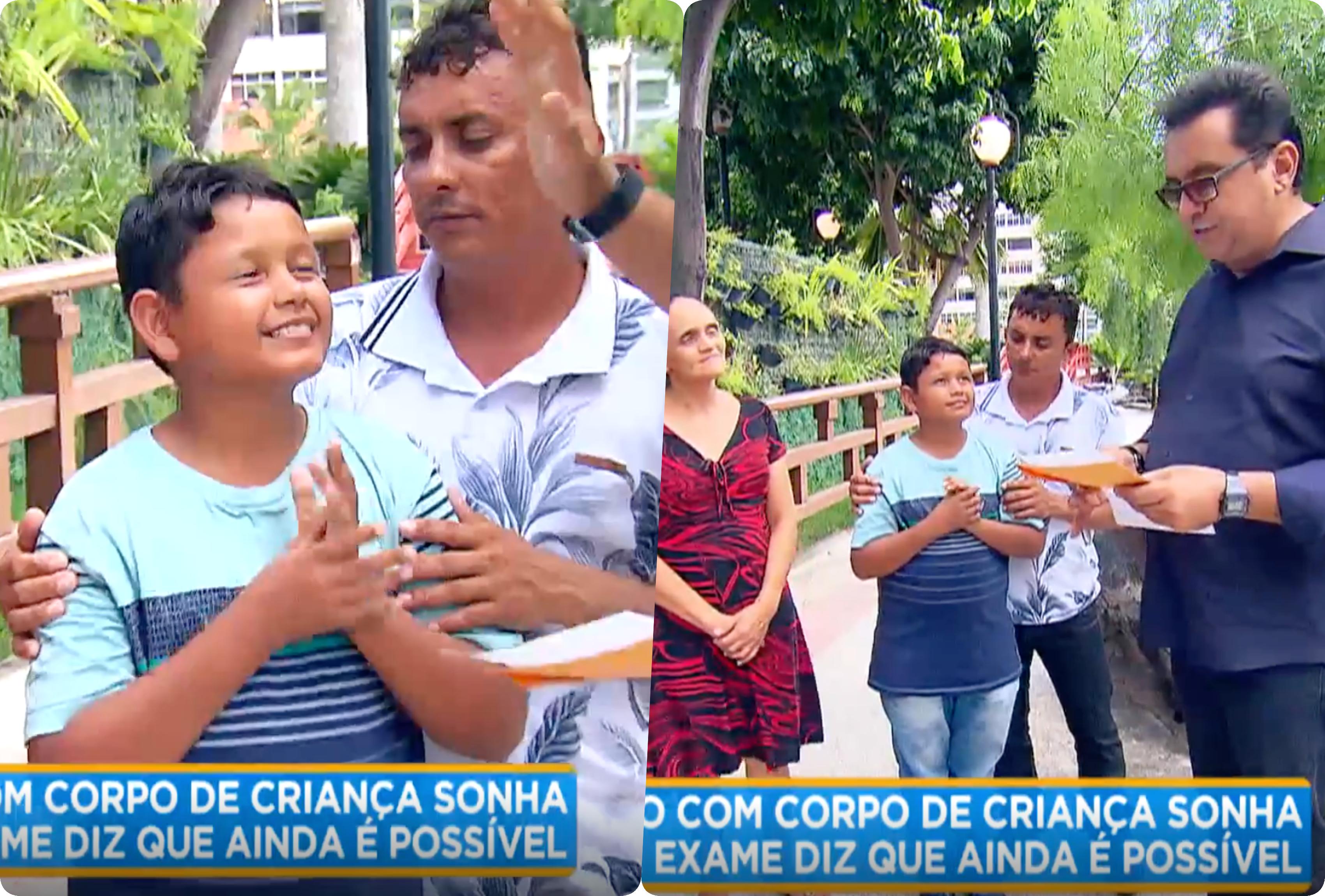 Geraldo Luis emocionou o Brasil com história de rapaz preso em um corpo de criança