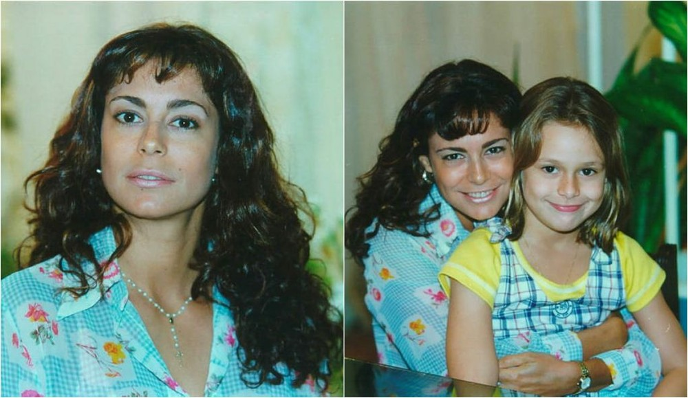 A atriz Giovanna God em cena na novela Por Amor, 1998 (Imagens/ Divulgação Globo)