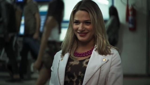 Personagem transexual estreia em A Dona do Pedaço (Foto: Reprodução)