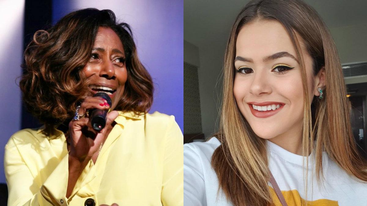 Glória Maria e Maisa Silva (Foto: Divulgação)