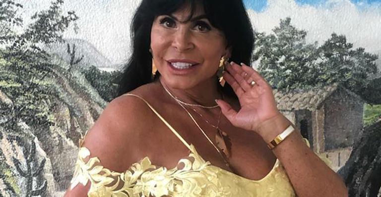 Gretchen foi convidada para participar da novela A Dona do Pedaço, da Globo recentemente. (Foto: Reprodução)