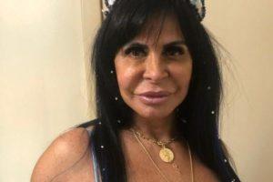 Gretchen a atriz da Globo, de A Dona do Pedaço (Foto: Divulgação)