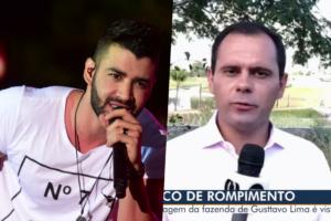 Cantor Gusttavo Lima se envolve em terrível confusão com sua fazenda e Globo mostra tudo