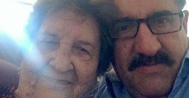 Ratinho com sua mãe, dona Maria (Foto: Reprodução/Instagram)