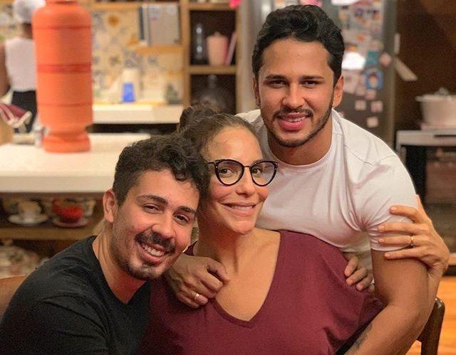 Carlinhos Maia,Lucas Guimarães e Ivete Sangalo (Foto: Reprodução/Instagram)