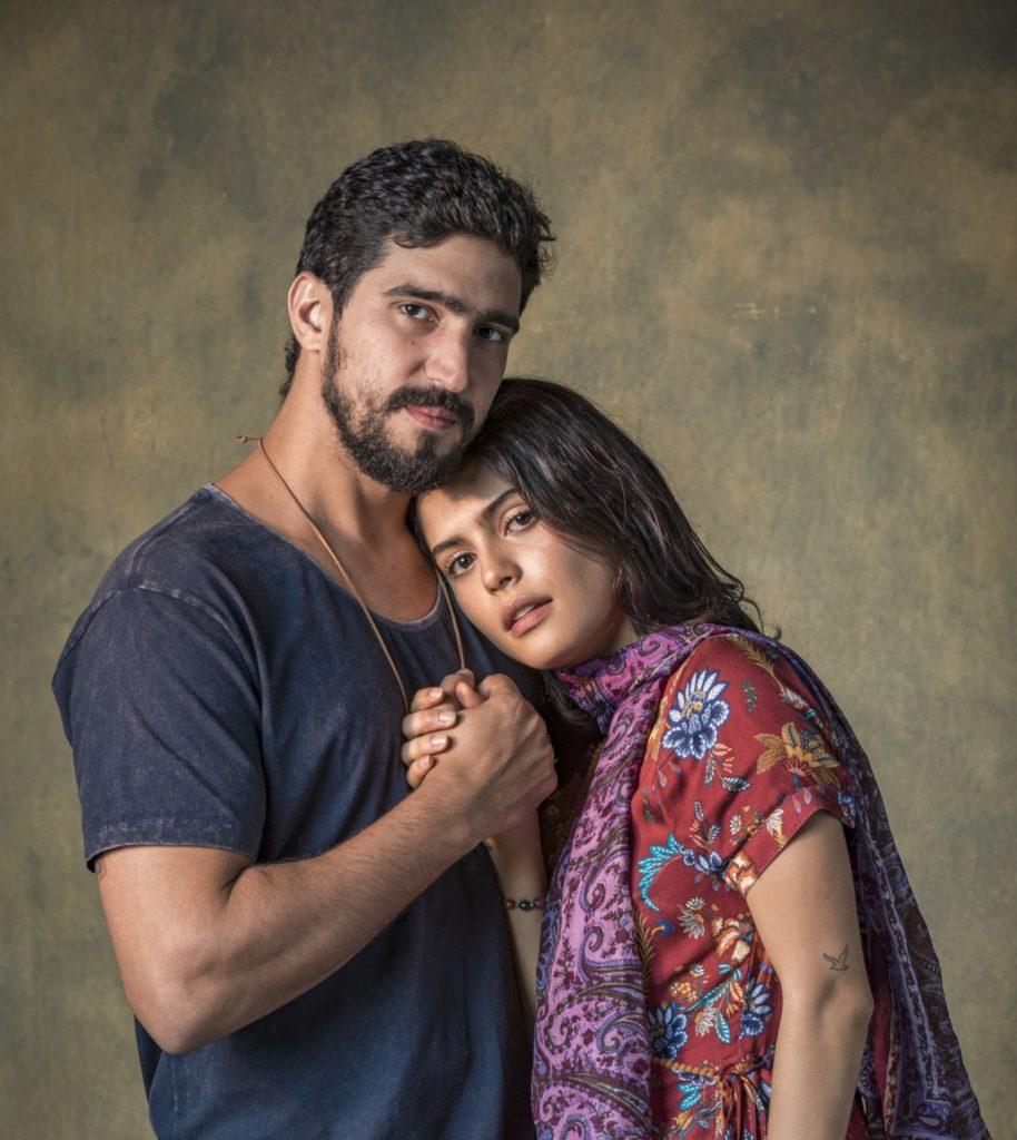 Jamil (Renato Goes) na novela Órfãos da Terra (Imagem: Divulgação/Globo)