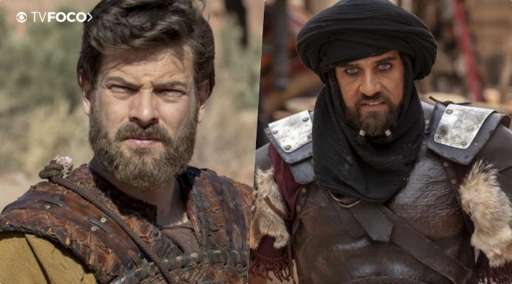 Hannibal acusa Barzilai pela fuga de Eliseu do calabouço na novela da Record Jezabel