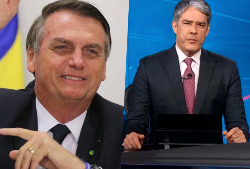 William Bonner é âncora do Jornal Nacional da Globo e se posicionou em relação a Bolsonaro