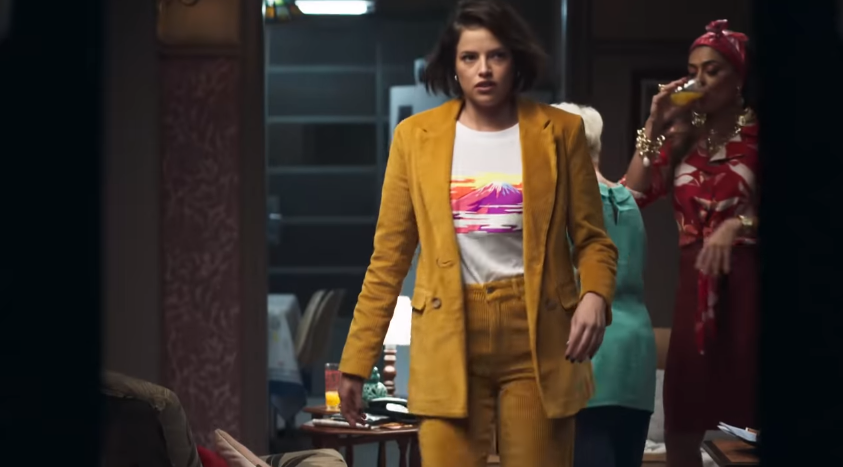 Agatha Moreira e Juliana Paes em cena da novela A Dona do Pedaço da Globo