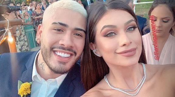A ex-namorada do famoso cantor e funkeiro, Kevinho, Flávia Pavanelli foi pedida em casamento pelo empresário Junior Mendonza (Foto: Reprodução Instagram)