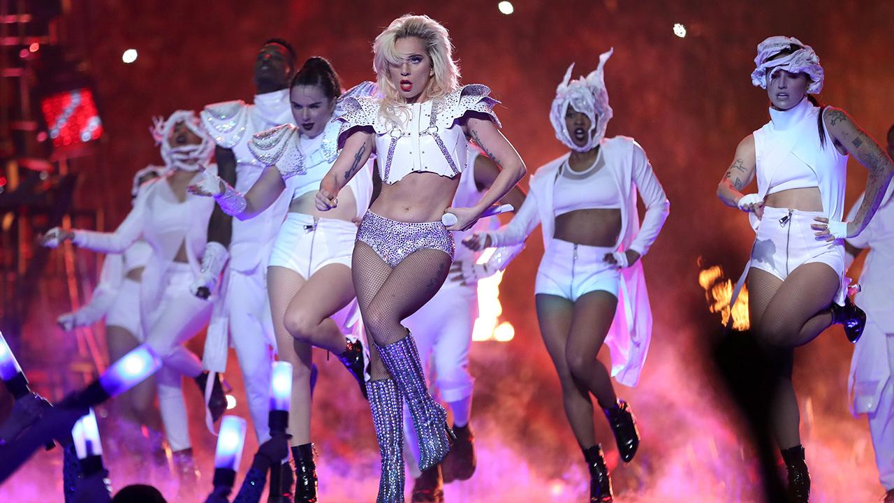 Show particular de Lady Gaga (Foto: Reprodução)