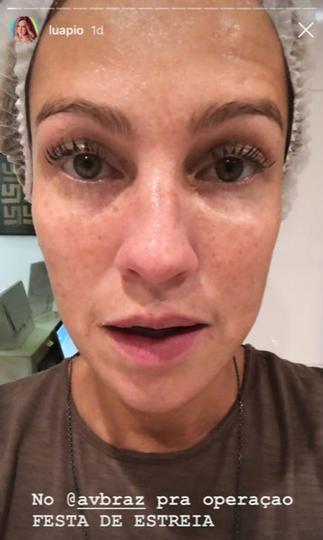Luana Piovani pôs botox na cara (Foto: Reprodução/ Instagram)