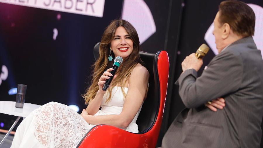 Luciana Gimenez esteve no Programa Raul Gil (Foto: Divulgação)