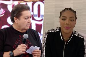 Ludmilla não conseguiu voltar para o Show dos Famosos do Faustão na Globo