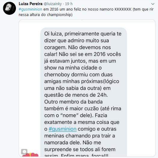 Relatos sobre Gustavo Bertoni, da banda Scalene (Foto: Divulgação)