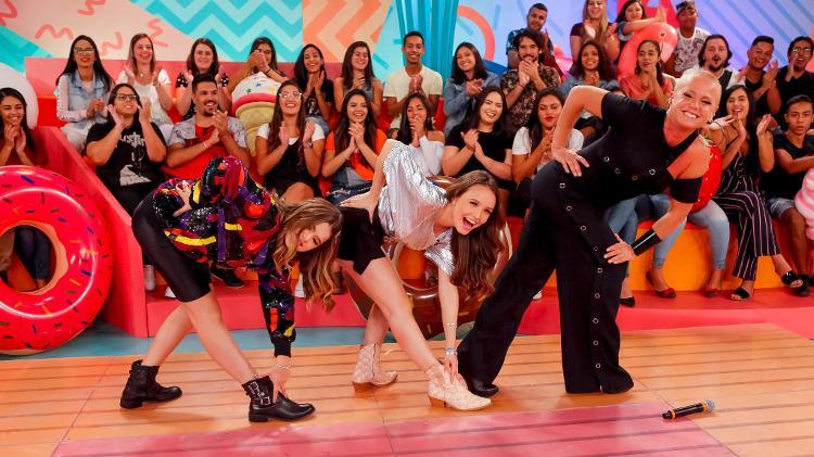 Maisa, Larissa Manoela e Xuxa (Foto: Divulgação)
