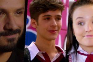 Marcelo (Murilo Cezar), Luca Tuber (João Guilherme), Mirela (Larissa Manoela) estarão com tudo em As Aventuras de Poliana