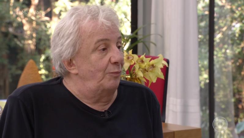 Marco Nanini em entrevista ao Mais Você (Foto: Reprodução/Globo)