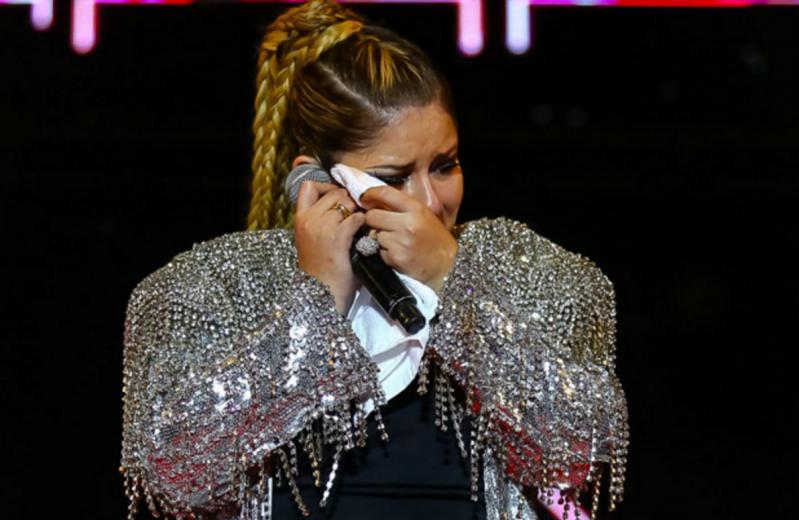 Marília Mendonça entrou em estado de completo desespero (Foto: Reprodução)
