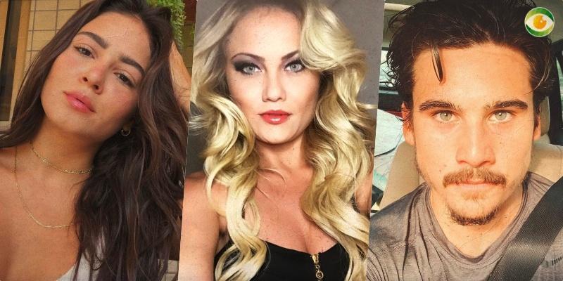 O ator Nicolas Prattes e as atrizes Ellen Roche e Giulia Buscacio estarão em Éramos Seis da Globo
