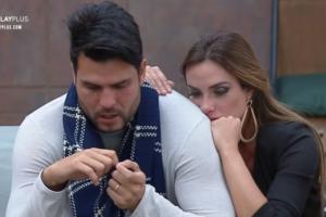 Marcelo Bimbi ficou sabendo da morte do irmão após vitória no Power Couple (Foto: Reprodução)