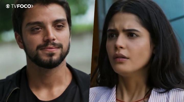 Na novela da Globo, Órfãos da Terra, Bruno (Rodrigo Simas) e Laila (Julia Dalavia) movimentarão a trama